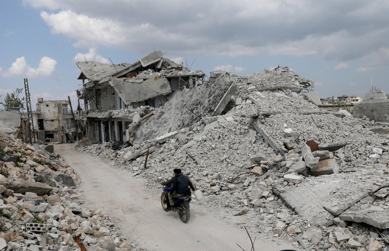 Jabal al-Zawiya in Syrië. Beeld Reuters