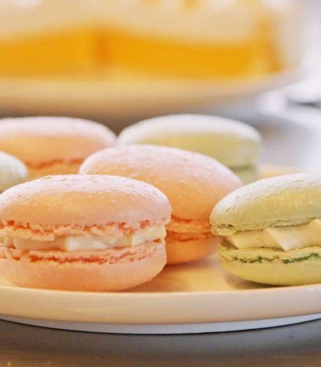 Macarons maken zonder ei en boter? Janny van der Heijden heeft haar twijfels maar proeft ze wel