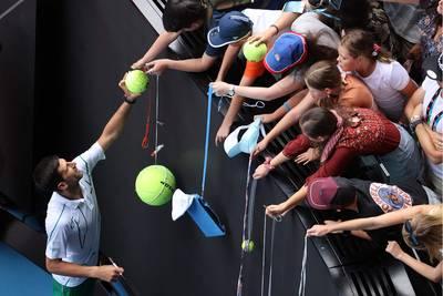 Djokovic voor elfde keer naar kwartfinales in Melbourne