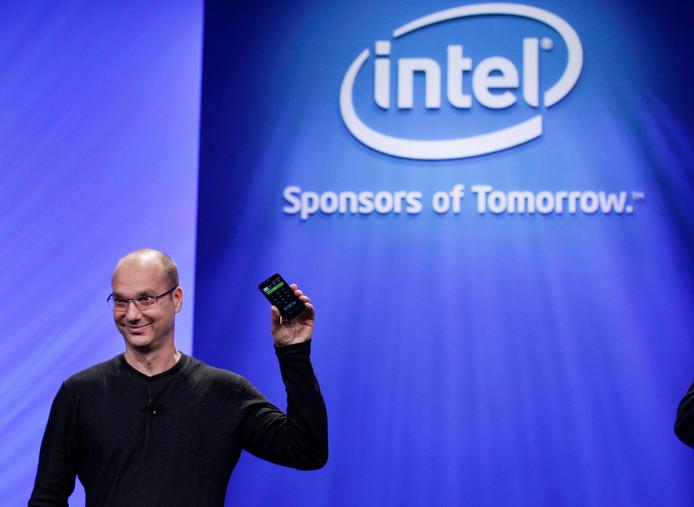 Andy Rubin, voormalig vicepresident van Google en de bedenker van het besturingssysteem Android.