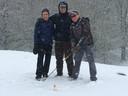 Early-morning-winterwedstrijd bij golfbaan Rijk van Nijmegen in Groesbeek. Helaas vanwege de sneeuw afgelast.