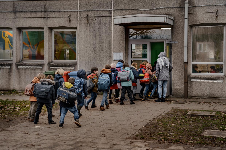 De GO!-basisschool in Merelbeke.