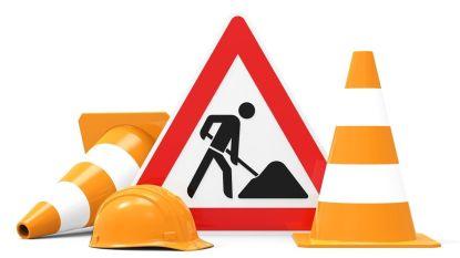 Frees- en asfalteringswerken in een tiental straten