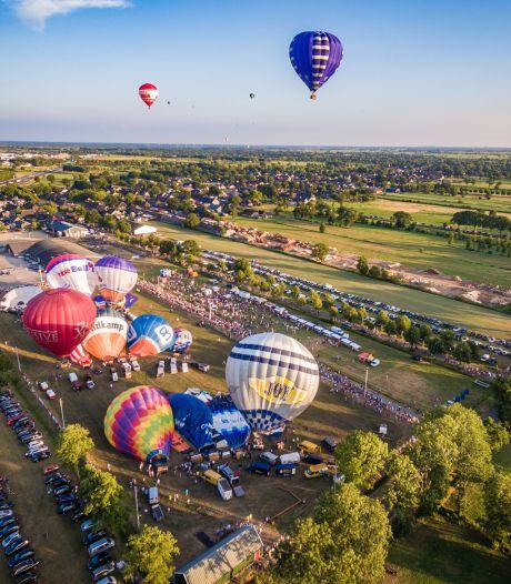 De ballonnen van Staphorst stijgen dit jaar ook op vanaf Zwartewaterland en het Vechtdal: 'We komen buurten'