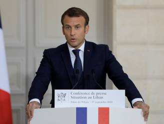 """Franse president Macron """"erg geschrokken"""" door politiegeweld tegen zwarte man"""