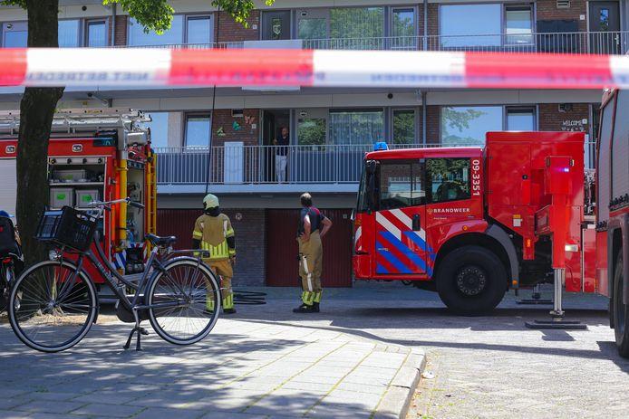De brandweer heeft de brand snel weten te doven.