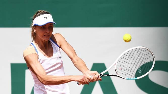Landgenote Maryna Zanevska steekt haar eerste WTA-titel op zak en belt meteen naar haar ouders