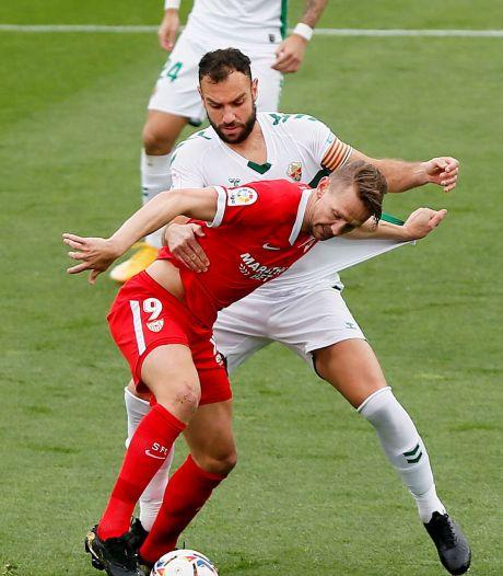 Treffer De Jong mag niet baten voor Sevilla: derde nederlaag in een week tijd