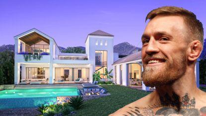 Conor McGregor heeft net dit adembenemende buitenverblijfje van 1,5 miljoen gekocht in Marbella