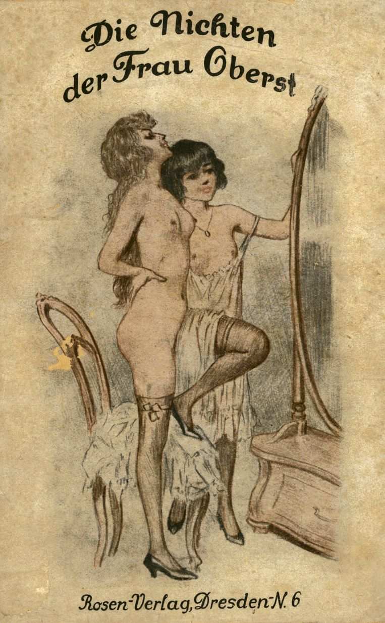 Een foto was pas obsceen als 'het geslachtelijke in de voorstelling' werd geaccentueerd'. Beeld