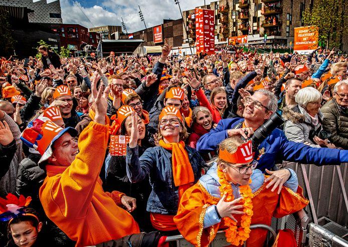 In 2019 werd nog uitgebreid koningsdag gevierd in Amersfoort