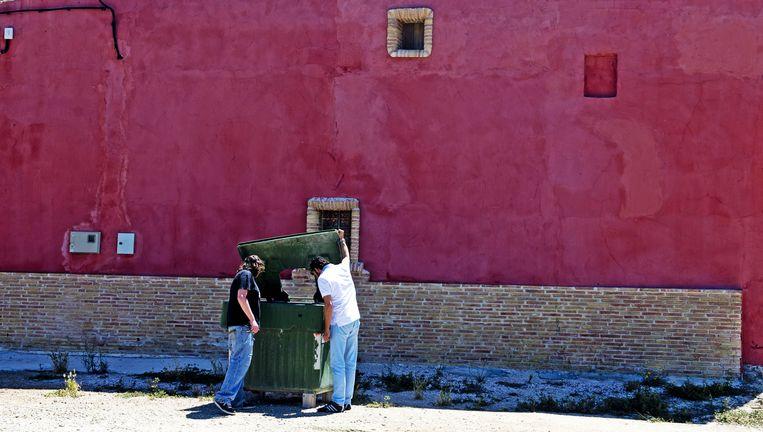 2013-05-28 LA HURONA - Onderzoek bij de woning in La Hurona waar de oud-volleybalster Ingrid Visser en haar partner Lodewijk Severein om het leven zijn gebracht. ANP ROBIN UTRECHT Beeld ANP