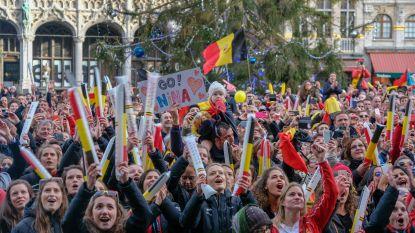 Red Lions onthaald met een volksfeest op de Grote Markt