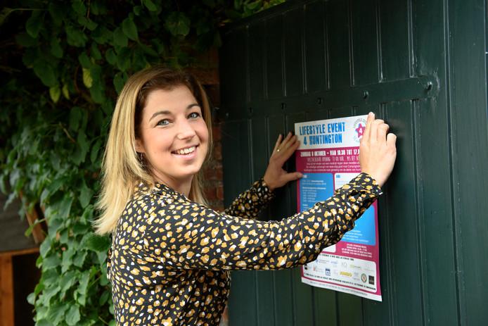 Marijke Jacobs organiseert een evenement in Reusel om geld op te halen voor onderzoek naar de ziekte van Huntington.