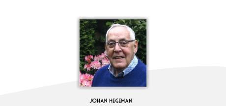 Hellendoornse gemeenteraad neemt afscheid van oud-wethouder Johan Hegeman (75)