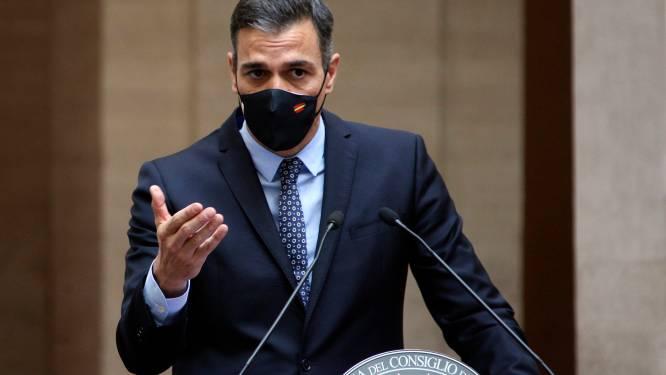 Spaanse regering roept sanitaire noodtoestand uit tot mei 2021