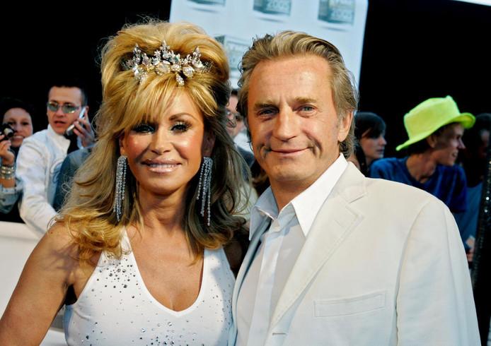 Connie met haar ex-man Hans Breukhoven.
