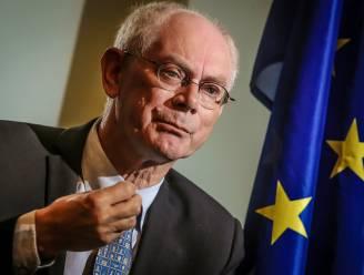"""Van Rompuy: """"Britten moeten vrij verkeer aanvaarden om in EU-eenheidsmarkt te blijven"""""""