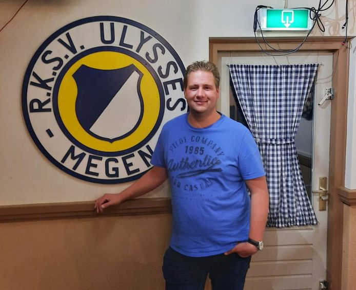 De nieuwe voorzitter van R.K.S.V. Ulysses: Jan-Thijs Ouwens