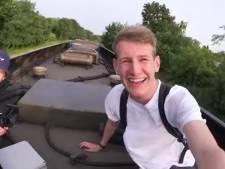 Vlogger Willem heeft 'echt heel veel spijt' van treinstunt
