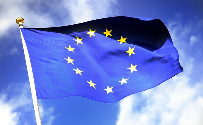 De vlag van de Europese Unie. Voortaan ook in Brabant.