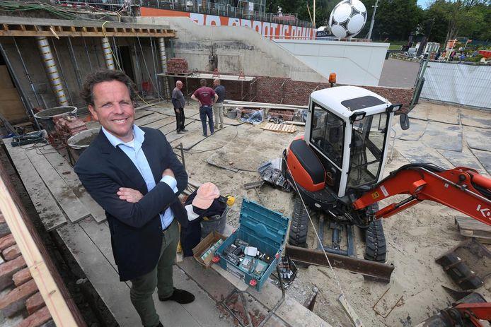 Directeur Joris van Dijk.