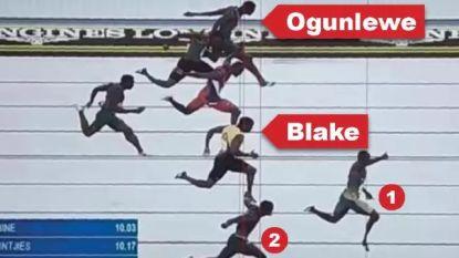 "Finishfoto van verrassende 100m op Commonwealth Games zorgt voor ophef: ""Kan iemand me uitleggen waarom Yohan Blake nog brons krijgt?"""