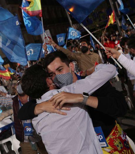Revers cinglant du Parti socialiste aux régionales à Madrid