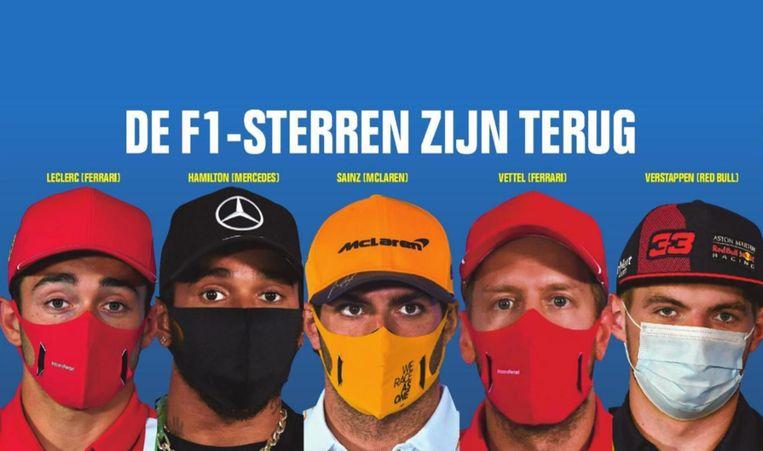 De F1-sterren zijn terug.
