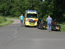 Motorrijder op Harley onderuit in buitengebied van Holten