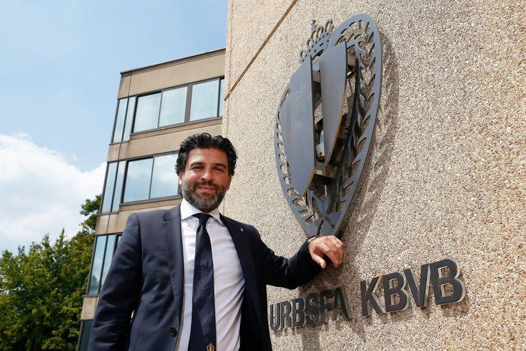 Mehdi Bayat bij zijn aanstelling in juni.  Beeld Photo News