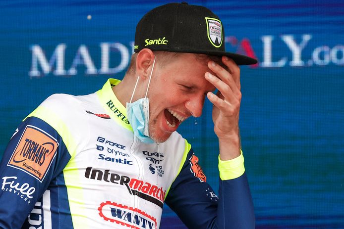 Taco van der Hoorn mag naar het Giro-podium.