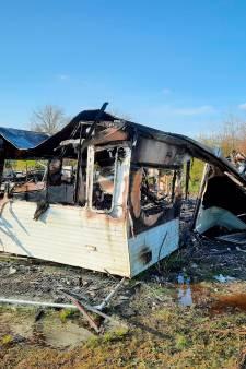 Vermoedelijk opzet bij vlammenzee in Nunspeet: 'Stacaravans gaan niet spontaan branden'