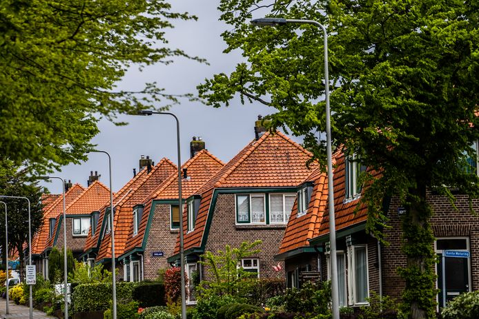 Huizen op de Geitenkamp in Arnhem, een van de wijken waar corporatie Vivare woningen verkocht aan het bedrijf QSP ESS van miljardair George Soros.