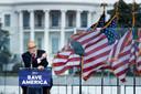 Rudi Giuliani riep voor het Witte Huis de Trump-aanhangers op tot 'strijd'.