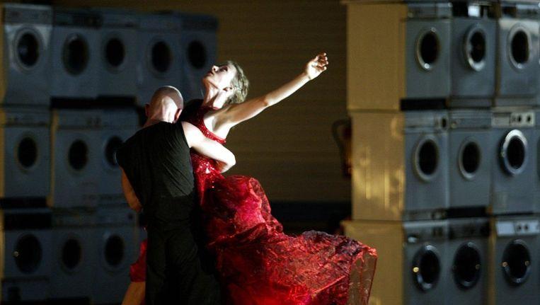 Een dansvoorstelling van Conny Janssen Beeld ANP
