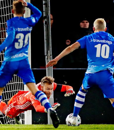 Sterke optreden Thy, maar geen treffer tegen Feyenoord