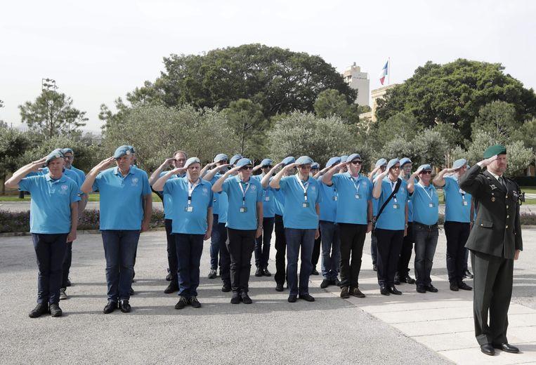 Unifil-veteranen keren terug naar Libanon.  Beeld AFP