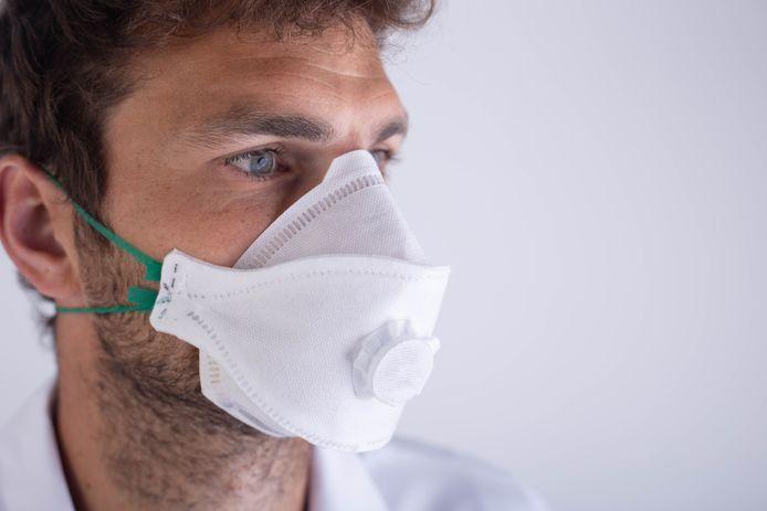 Zo zullen de mondmaskers van Medimundi er uitzien