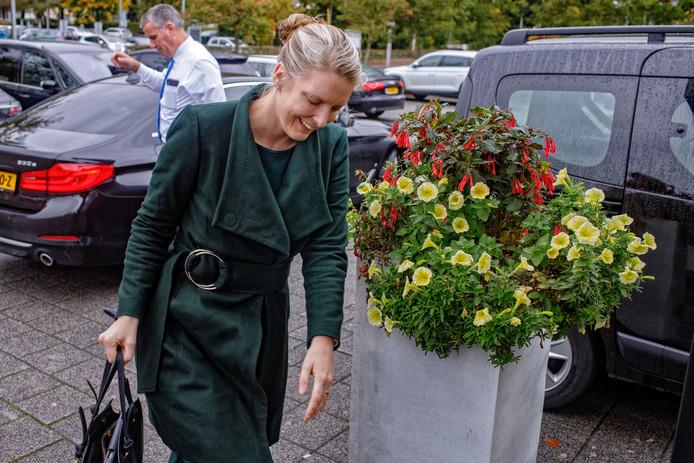 CDA-gedeputeerde Marianne van der Sloot, eerder deze maand. Ze is opgestapt als provinciebestuurder in Brabant, net als haar  collega Renze Bergsma.