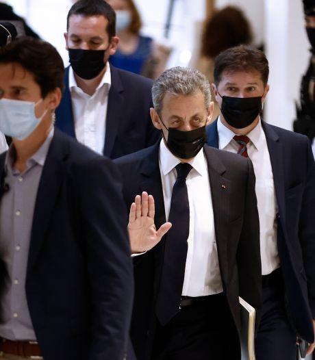 Nicolas Sarkozy entendu dans le procès sur ses dépenses de campagne en 2012