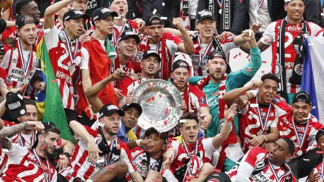 Voetbalwereld feliciteert kampioen PSV