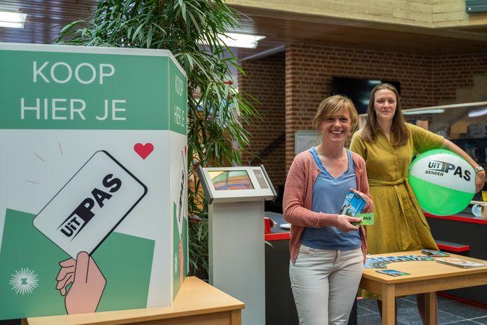 Schepen Tineke Lootens en directeur Leven & Welzijn Justine Helaers.