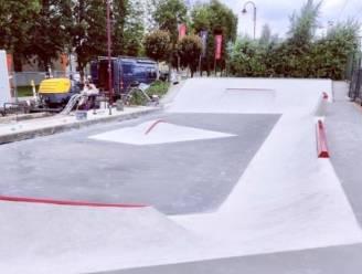 Opgefrist skateterrein heropent in afwachting van het nieuwe skatepark