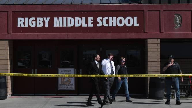 12-jarige leerlinge opent vuur in Amerikaanse school