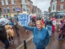 Weimarstraat staat op tegen coffeeshopterreur: 'Desnoods protesteren we hier elke week'
