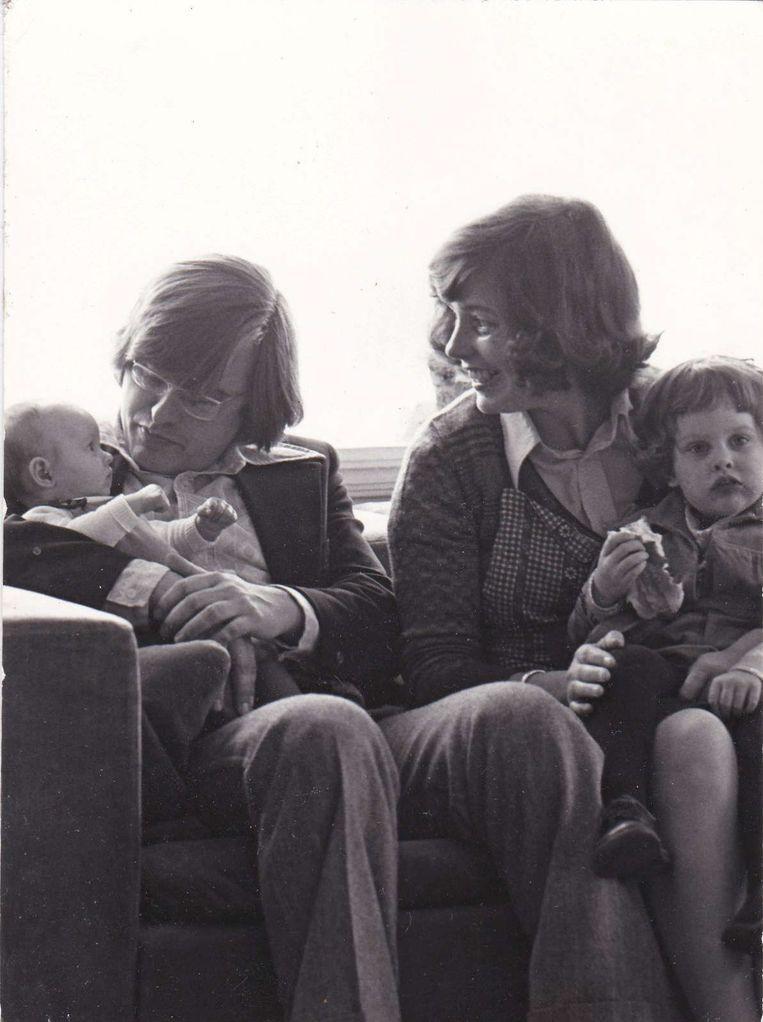 Het gezin. Beeld familiealbum