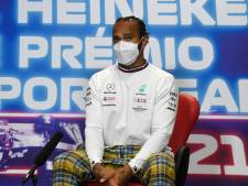 Hamilton sluit zich aan bij social media-boycot: 'Ik snap niet waarom de Formule 1 niet meedoet'