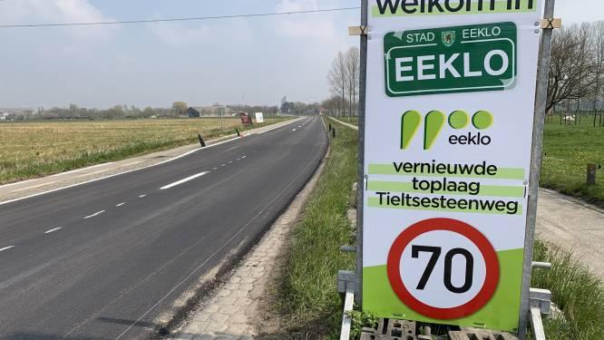 Baan van Eeklo naar Aalter weer open: werken Tieltsesteenweg voltooid