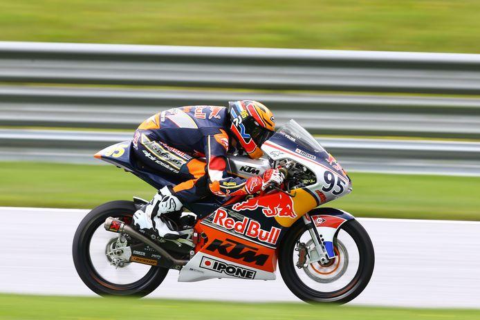 Collin Veijer start in 2022 opnieuw in de Red Bull Rookies MotoGP Cup.